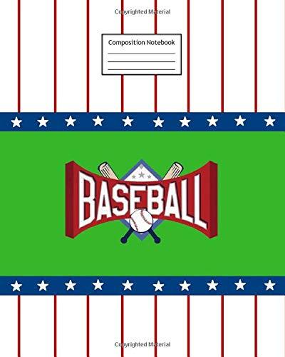 Composition Notebook: Baseball | 8