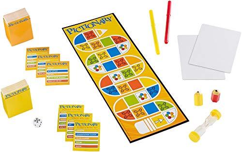 Pictionary DKD49 bordspel, versie, handleiding in het Engels, verschillende kleuren