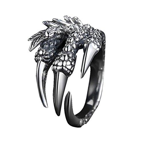 Demarkt Drache Kralle Fingerringe Ring Schmuck Punk Gothic Ring