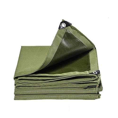 SJSF L Camuflaje Camuflaje Lona Impermeable Cubierta de Hoja de Suelo 600 g/m² Trabajo Pesado,6 * 10m