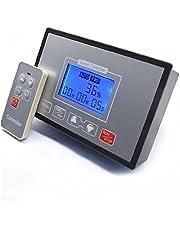 Velocidad del motor controlador PWM DC 10-55V 60A Pantalla LCD Interruptor reversible Fácil Simple Control remoto ajustable