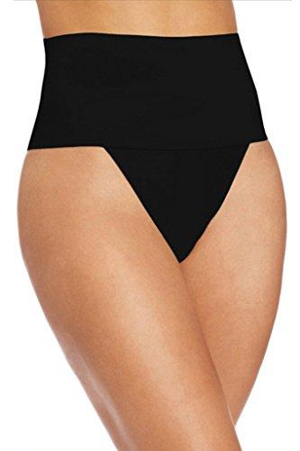 New Ladies Negro Forma Wear barriga faja Tanga Ropa Interior Forma Wear