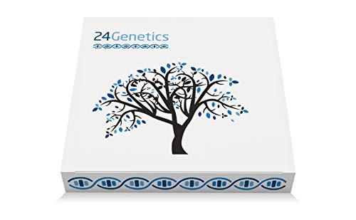 24Genetics - Pack de Test de ADN DEPORTE PLUS - Prueba genética Deportiva y de Nutrición - Incluye kit de ADN