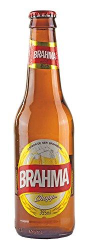 Leichtes brasilianisches Bier, 4,7% vol, Long-Neckflasche 355ml - Cerveja BRAHMA CHOPP