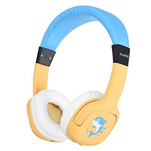 REDSTORM Cuffie per Bambini, Auricolare Bluetooth per Bambini con Limite di Volume 85db / 93db, Cuffie per Bambini Adolescenti …