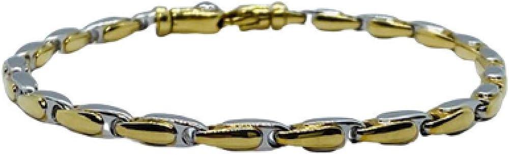 Chimento,bracciale per uomo in oro giallo 18 kt(19,9 gr)e diamante 0,03 ct 1B05699ZB2205