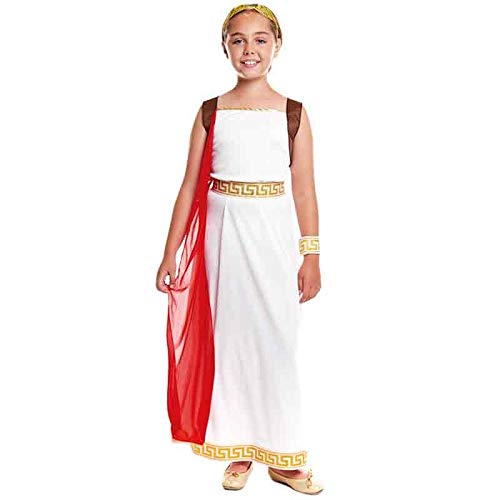 Disfraz Romana Laureada Niña Carnaval Históricos (Talla 10-12 años) (+ Tallas)