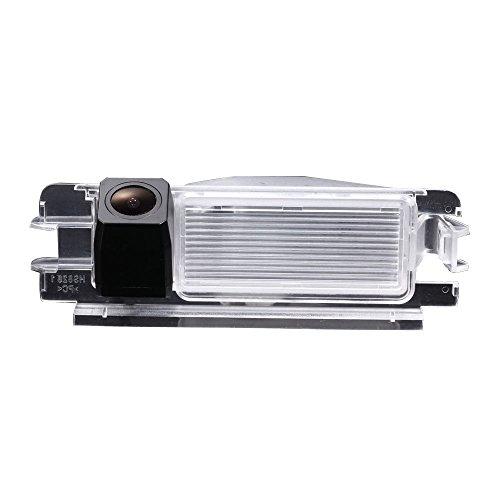 kalakus Caméra de Recul Voiture en Couleur Kit Caméra vue arrière de voiture Imperméable IP67 avec large Vision Nocturne pour Dacia Duster Sandero March Logan