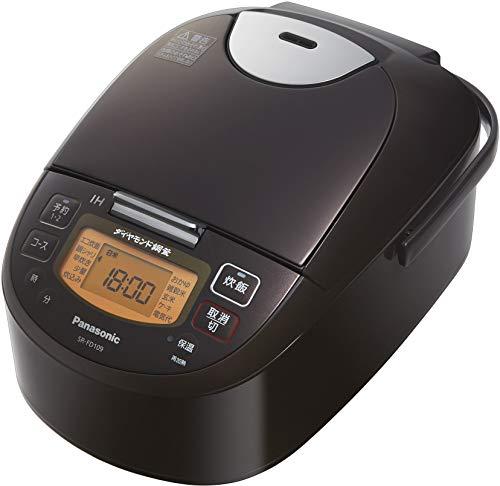 パナソニック 炊飯器 5.5合 IH式 ブラウン SR-FD109-T