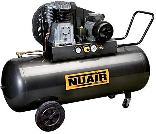Nuair - Gros compresseur d'air triphasé, 200L 400V