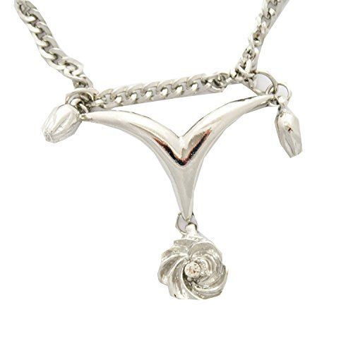 Sconosciuto Collana Fiore Ibisco Hibiscus blossow Necklace halskette Pidak Shop