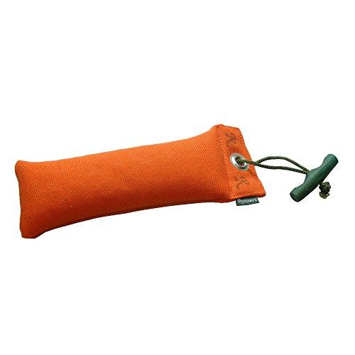 Romneys Junior Dummy mit Wurfgriff 250 g, orange - Für das Apporiertraining/Apport und die Hundeausbildung