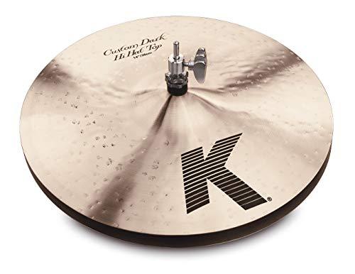 """Zildjian 14"""" K Custom Dark HiHat - Pair"""