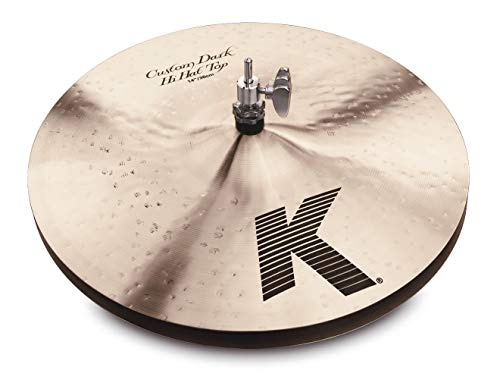 Zildjian K0943 Custom Dark Hi-Hat Top 14'