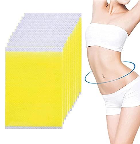 100 Pcs Hibana Patch, Tighten Stickers, Belly Tighten Stickers, Waist Burning Stickers, Thin Waist Patches