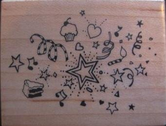 Party - Rubber Stamp - PSX D-400