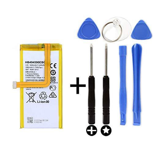 Bateria para Huawei Honor 7 + Kit Herramientas/Tools | HB494590EBC | 3000mAh