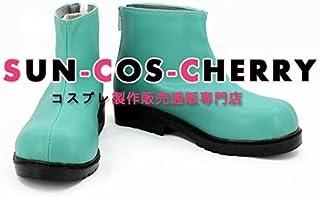 【サイズ選択可】コスプレ靴 ブーツ K-2121 アリス・イン・ワンダーランド Alice in Wonderland アブソレム 擬人化 男性25.5CM