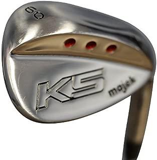Majek Golf Senior Men's Lob Wedge (LW) 60° Right Handed Senior Flex Steel Shaft
