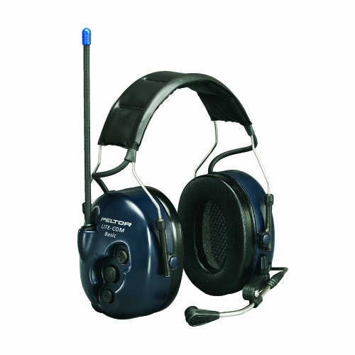 Peltor MT53H7A4400 Lite-Com Basic Draadloze koptelefoon, marineblauw