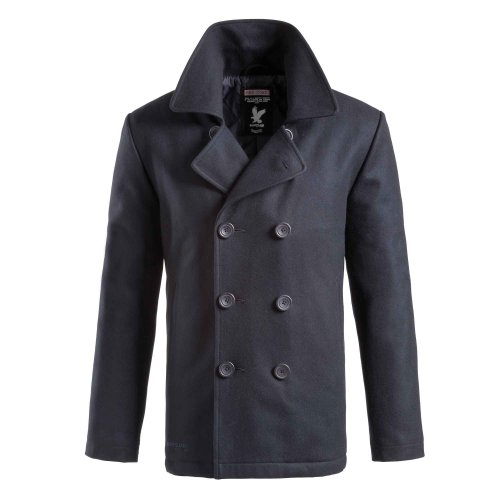 Surplus Herren PEA Coat, Navy, XL