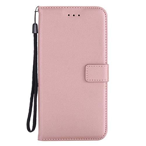 ZFLL Displayschutz Brieftasche pu Ledertasche für Samsung Galaxy Grand neo Plus i9060i i9060 gt-i9060i duos i9082 i9080 gt-i9082 flip Phone case-Leder-Rose Gold