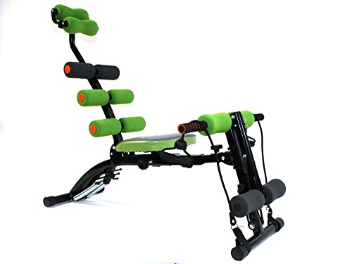 MAXOfit Multitrainer Greenline SixMax Pro MF-6.G, Ganzkörper Heimtrainer Für Zuhause, Für Bauch Beine Po Rücken