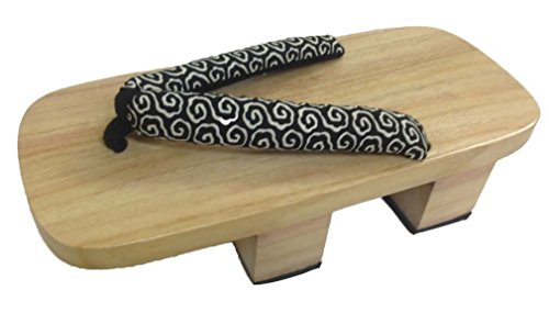 Geta Japanese Style Raised Wooden Shoes