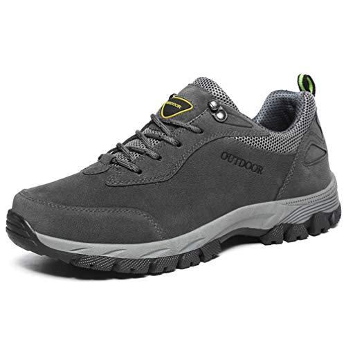 Hsyooes Trekking und Wanderschuhe für Herren Damen Outdoor rutschfest Schuhe Sport Sneakers Leichte Kletterschuhe 39-49