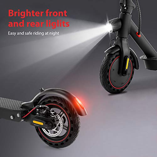 isincer Electric Scooter-350W Motor foldable Scooter,8.5 Inch Honeycomb Tires,3 Speed Modes up to 30km/h E-scooter,Commuter Electric Scooter for Adults,LED Display Screen scooter with shock absorber