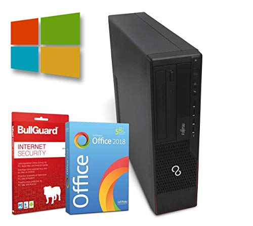 Fujitsu Esprimo E720 Desktop | Intel Core i3-4130@ 3,4GHz | 4GB | 320GB HDD | Windows 10 Pro | BullGuard | SoftMaker Office (Generalüberholt)