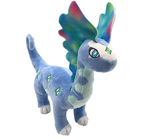 Pokemon Juguetes De Peluche Dragón De Hielo Y Nieve Aurorus Lindo Muñeco De Peluche Suave 30Cm Regalos para Niños
