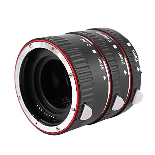 캐논 EF | EF-S 카메라용 자동 초점 31MM+21MM+13MM 매크로 확장 튜브 세트 고화질 렌즈 마운트 클로즈업