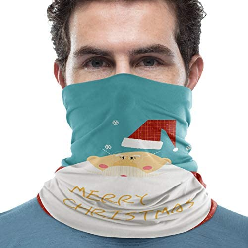 Breathable Dustproof Bandana Neck Gaiter Stretchable Face Cover Headwear Motorcycle Face Mask product image