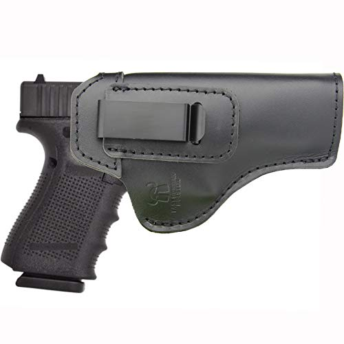 IWB Leather Holster for Inside The Waistband Concealed Carry...