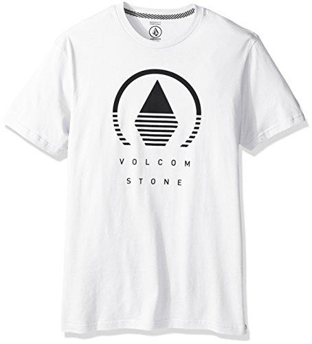 Volcom Horizon Herren-T-Shirt, kurzärmelig - grau - Groß