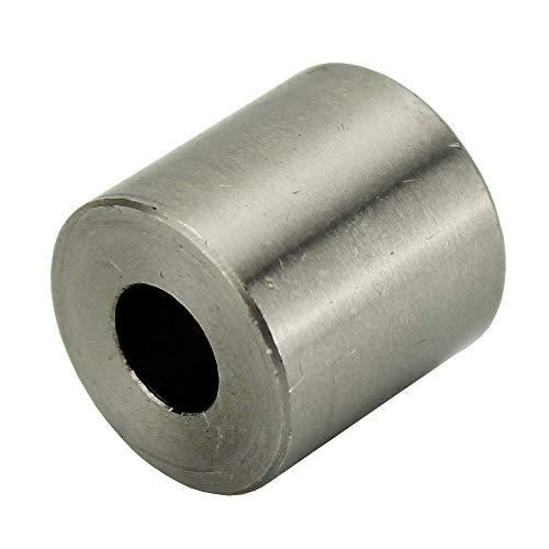 5 Stück Distanzhülse Abstandshülse für M10 Edelstahl V2A geschliffen AD22xID10,5xL20 mm (E702412) MOEBUS STEEL DESIGN