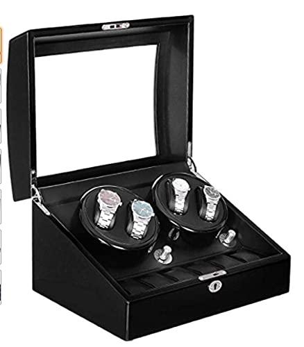 GJPSXTY 4 + 6 Reloj automático Caja de Reloj giratoria Caja de Regalo Caja de Reloj automática
