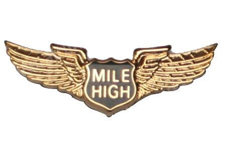 Mile High Club Label Pin [PIN400]