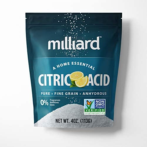Milliard Citric Acid 4 Ounce 100 Pure Food Grade NON GMO Project VERIFIED product image