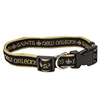 Pets First NFL New Orleans Saints Pet Collar, Small