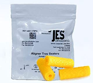 Aligner Chewies for Invisalign Trays - Yellow/Pineapple Scented - 3 Chewies per Bag