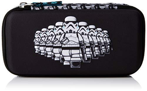Lannoo Graphics Unisex-Kinder Lego Star Wars Stormtrooper 3d-stiftkoffer Rucksack Schwarz (Black/Grey)