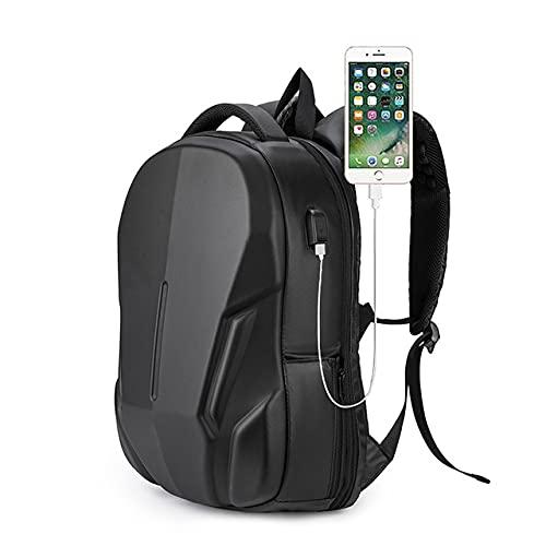Mochila para computadora portátil de 15.6 pulgadas, bolso de negocios antirrobo negro, bolso de hombro, impermeable/con cerradura TSA/carga USB/Universidad, hombres, mujeres. Black-OneSize
