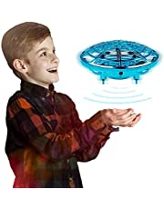 Innoo Tech Kids Drone Hand Operated UFO Drones for Kids or Adults Hands Free Mini Drone Helicopter Suspension Gesture Sensing Aircraft Indoor Flying Ball Drone Toys for Boys or Girls