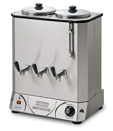 Cafeteira, Marchesoni, Profissional Cf.4.422, Inox