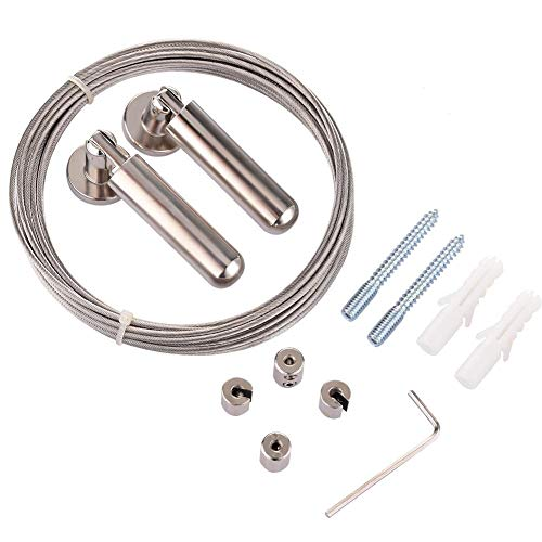 5 M Tensor De Cable, Cable De Cortina, 304 Cable Determinado Tensor Cuerda De Cortina Del Alambre, Accesorios Para Cortinas Y Persianas