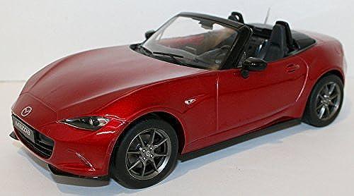 Mazda MX5, rot, 2015, Modellauto, Fertigmodell, Triple 9 Collection 1 18