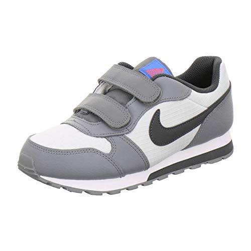 Nike MD Runner 2 (PSV), Scarpe da Atletica Leggera Bambino, Multicolore (Pure Platinum/Anthracite/Cool Grey 015), 33.5 EU