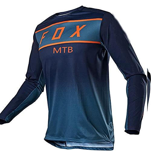 MTB Fox Jersey Motocross Cycling Off Road Dirt Bike Riding ATV MTB Dh Racing Long Sleeve Shirt Fxr Motorcycle Jersey-S
